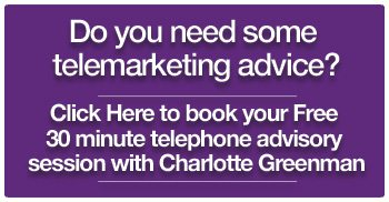 Do you need telemarketing advice and want a free 30 minute call with me?