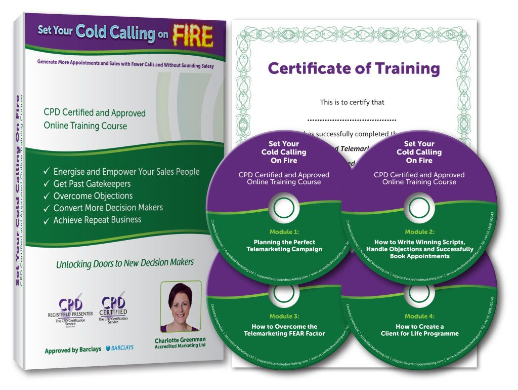 Set Your Cold Calling On Fire Telemarketing Training